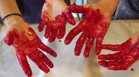damson hands
