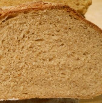 Firm dough crumb