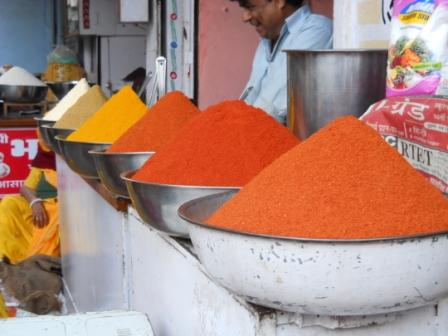Spice Stall in Udaipur