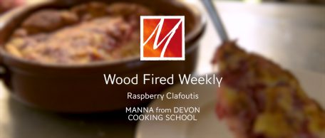 Woodfired Raspberry Clafoutis