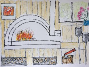 Lighting your woodfired oven