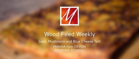 Woodfired Leek, Mushroom & Blue Cheese Tart