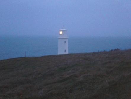 Trevose Lighthouse at Daybreak