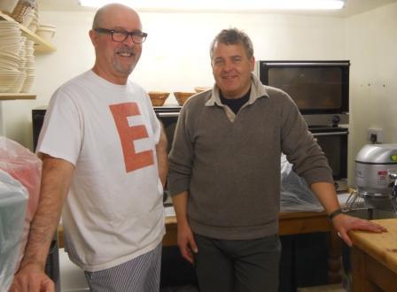 David and Roger Birt at Red Dog Bakery