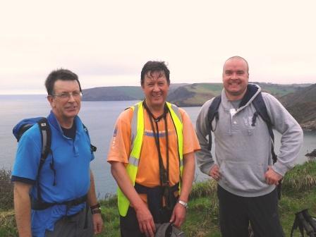 John, Kit and Howard