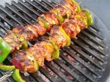 Grilled meat on the grill forno