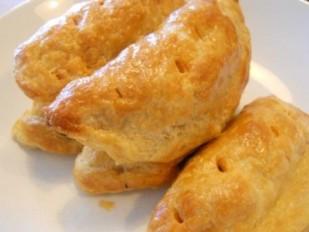 Empanadas with flaky pastry