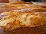 Crusty bread rolls