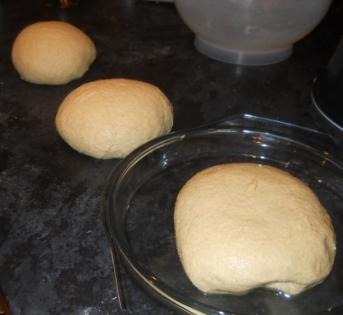 3 doughs