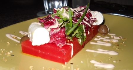 Nidu watermelon salad