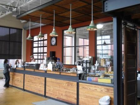 swings coffee shop with big windows