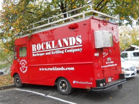 Rocklnads Barbeque Truck