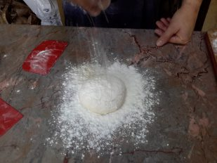 Plenty of flour