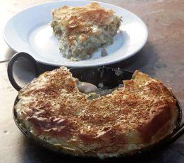 Woodfired Chicken, Ham & Leek Pie