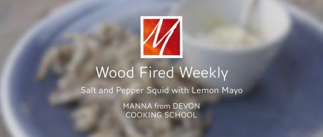 Woodfired Salt & Pepper Squid with Lemon Mayo