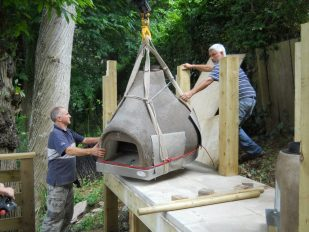 Where to site your woodfired oven