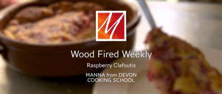 Woodfired Raspberry Clafoutis