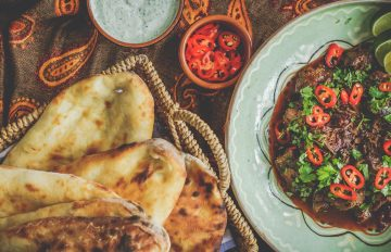 Woodfired Squash Curry and Naan Bread