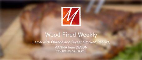Woodfired Leg of Lamb with Orange & Smoked Paprika