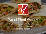 Woodfired Halloumi & Courgette Wraps