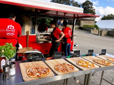 So you'd like to run a wood fired pizza business??