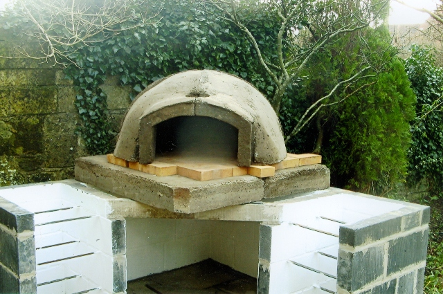 Try not to set your wood fired oven on fire.....
