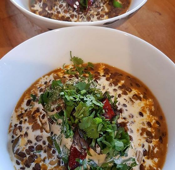Our Spicey Dahl Soup Recipe - Warming Food for Gloomy February