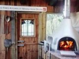 Part of our wood fired kitchen