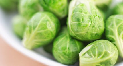 A sprout is not just for Christmas....