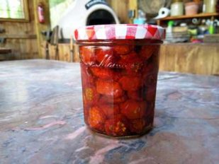 Slow Roast Tomatoes from the Wood Fired Oven