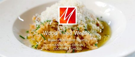 Mushroom Risotto from the Wood Fired Oven