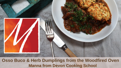 Osso Buco & Herby Dumplings from the Woodfired Oven