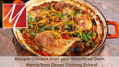 Basque Chicken from the Woodfired Oven