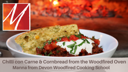 Woodfired Chilli con Carne and Cornbread