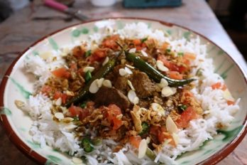 Lamb Curry from the Woodfired Oven - a Fabulous First Class Railway Mutton Curry