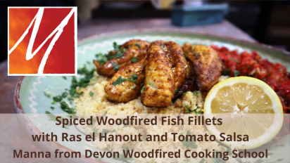 Woodfired Gurnard Fillets with Ras El Hanout and Tomato Salsa