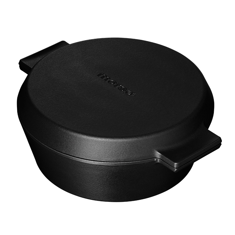 Cast Iron Casserole Dish with Griddle Lid