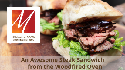 An Awesome Steak Sandwich from the Woodfired Oven