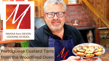 Portuguese Custard Tarts from the Woodfired Oven